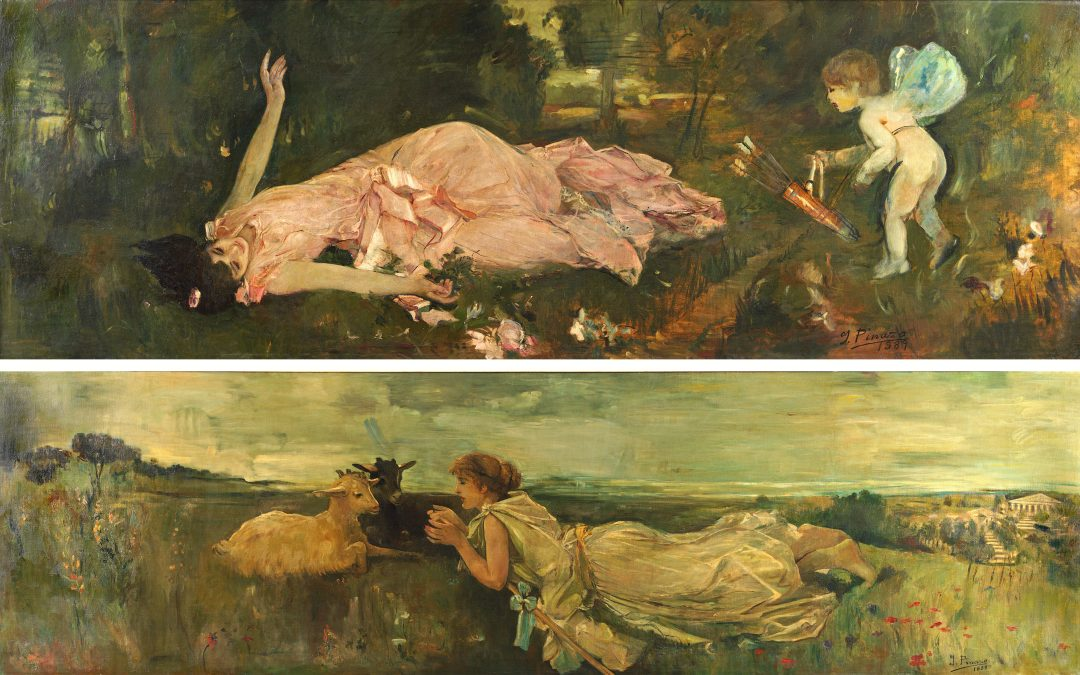 Beauty Wounded by Cupid. The Tale of the Goats.