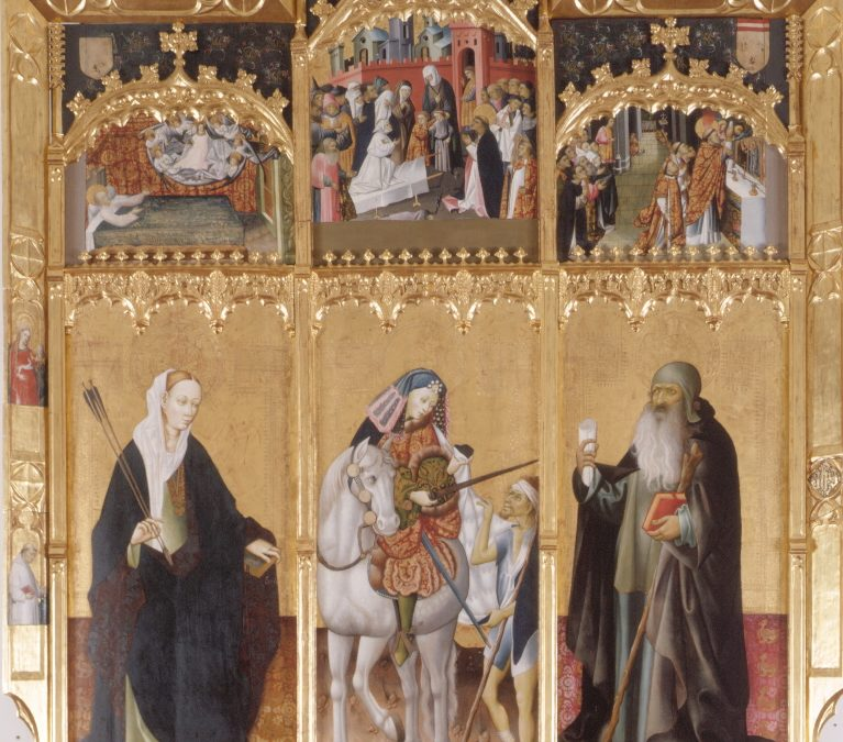 Altarpiece of St Martin, St Ursula and St Anthony
